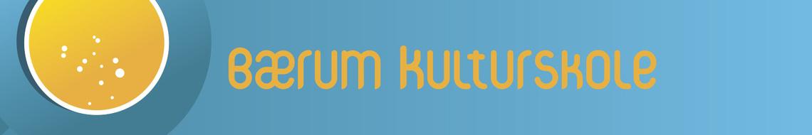 Bærum Kulturskole banner